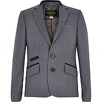 Boys navy suit jacket