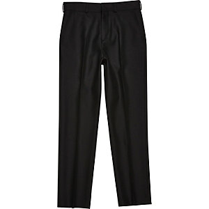 Boys black smart trouser