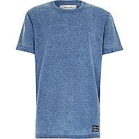 Boys blue burnout t-shirt
