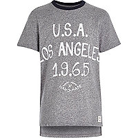 Boys blue LA drop back t-shirt