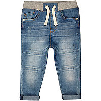 Mini boys blue denim Chester jeans
