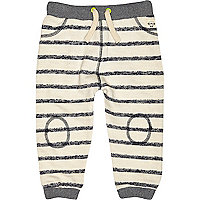 Mini boys stone stripe joggers