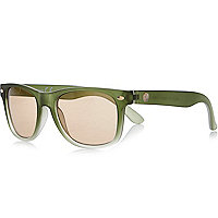 Boys khaki sunglasses