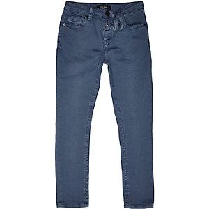 Boys blue medium wash Sid skinny jeans