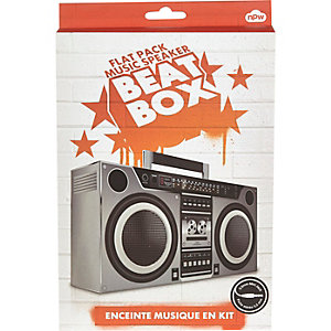 Kids red beat box speaker