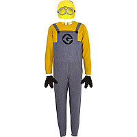 Boys yellow despicable me costume