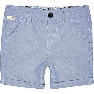 Mini boys blue shorts