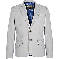 Boys blue suit jacket