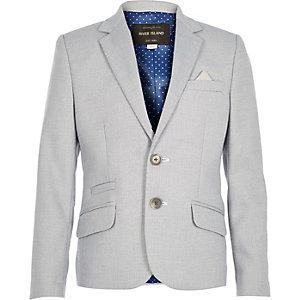 Boys blue suit jacket