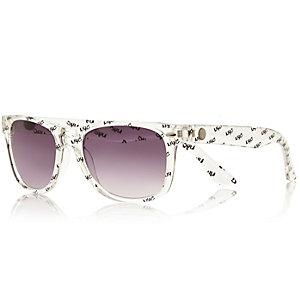 Boys clear NYC retro sunglasses