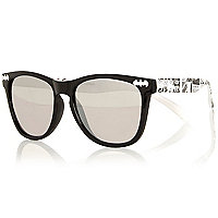 Boys black Batman comic sunglasses