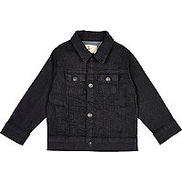 Mini boys blue denim jacket