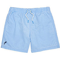 Boys light blue swim shorts