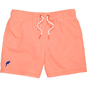 Boys coral swim shorts