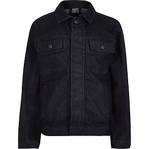 Kids dark blue denim jacket