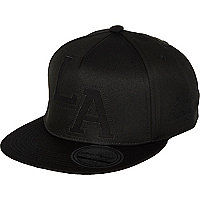 Boys black LA cap