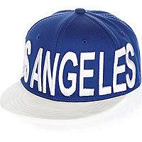 Boys blue Los Angeles cap
