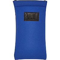 Boys blue scuba sunglasses case