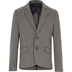 Boys grey blazer jacket