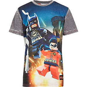 Boys grey Batman and Robin Lego t-shirt