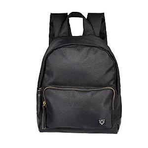 Boys black rucksack