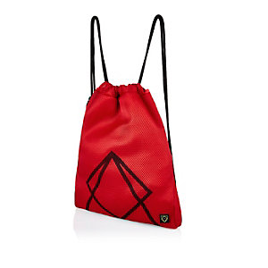 Boys red mesh sports bag