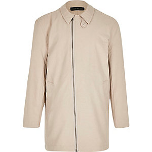 Boys beige mac coat