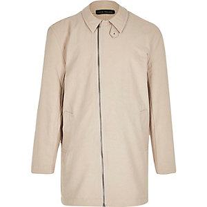 Boys beige mac coat