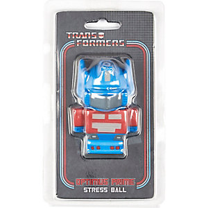 Boys blue transformers stressball