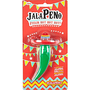 Kids green angry jalopeno pen
