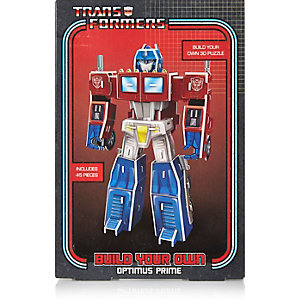Boys build your own transformer