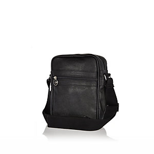 Boys black Dunlop small bag