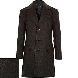 Boys grey overcoat