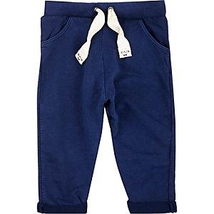 Mini boys blue joggers