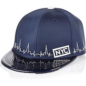 Boys blue NYC cap