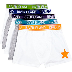 Boys neon RI boxer shorts pack