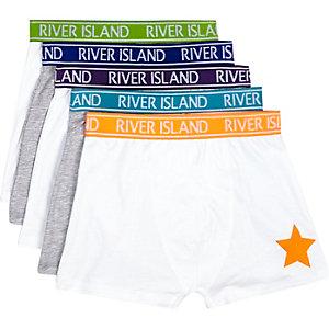 Boys neon RI boxer shorts pack