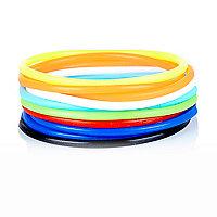 Boys multicolour gummies bracelet set