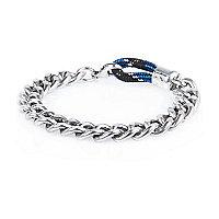 Boys silver chain link bracelet