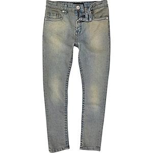 Boys light wash Sid skinny jeans