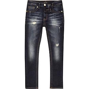Boys dark wash Sid skinny jeans