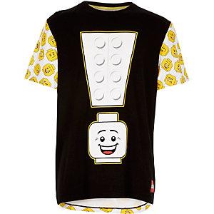 Boys black Lego print t-shirt