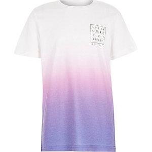 Boys purple faded LA t-shirt
