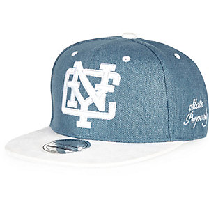 Boys blue denim NYC cap