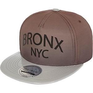 Boys ecru Bronx NYC cap