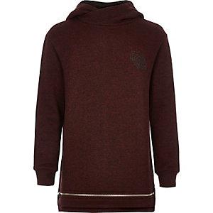 Boys red hooded sweatshirt