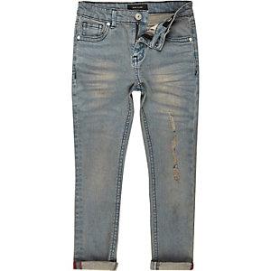 Mid wash blue Sid skinny jeans