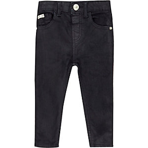 Mini boys dark blue skinny jeans
