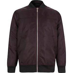Boys red bomber jacket