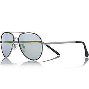 Boys silver aviator-style sunglasses